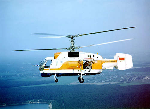 Special variants have also been built: the Ka-32A1 and Ka-32A11BC for fire-fighting and the Ka-32A2 for airborne police operations.