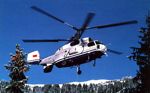 The helicopter can transport bulky cargo up to 5t, carried on an external sling.