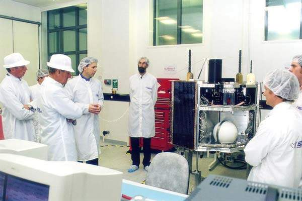 Surrey Satellite Technology (SSTL) is based at the Surrey Space Centre, which is linked to the University of Surrey.