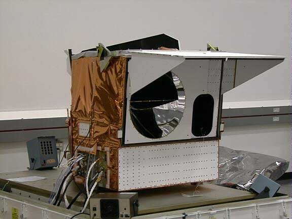 Modis instrument front view.
