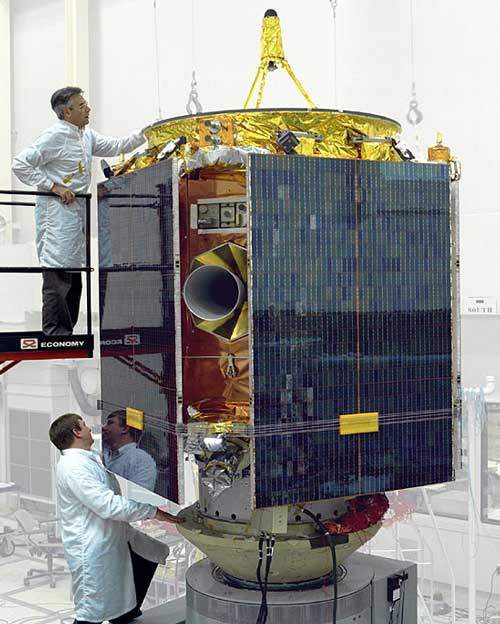 The NEAR probe was first launched in 1996.