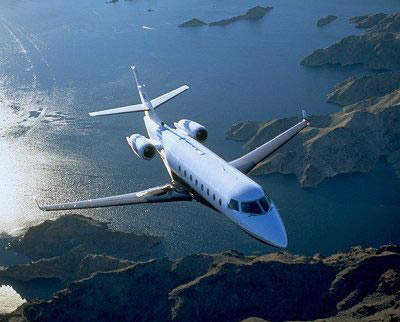 The business jet is powered by twin Pratt & Whitney Canada PW 306A engines.