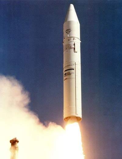 Athena launch vehicle.