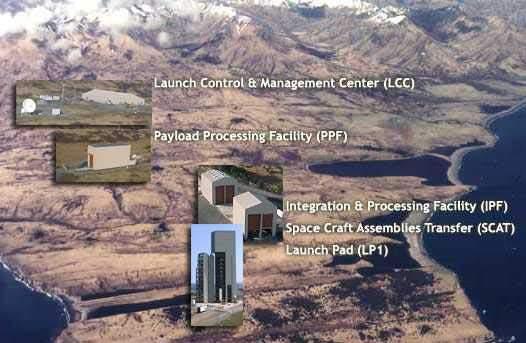 Kodiak Launch complex facilities.