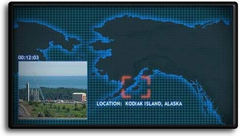 Kodiak Launch Complex map.