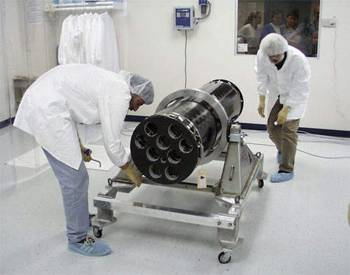 The Imaging Telescope Assembly consists of the telescope tube, grid trays, Solar Aspect System (SAS), and Roll Angle System (RAS). It was constructed, assembled, aligned, and tested at the Paul Scherrer Institut in Switzerland.