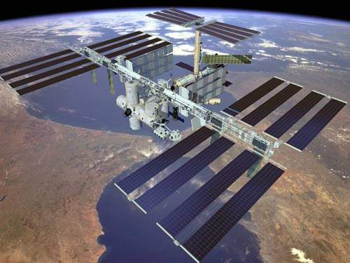 Artist's impression of the International Space Station.