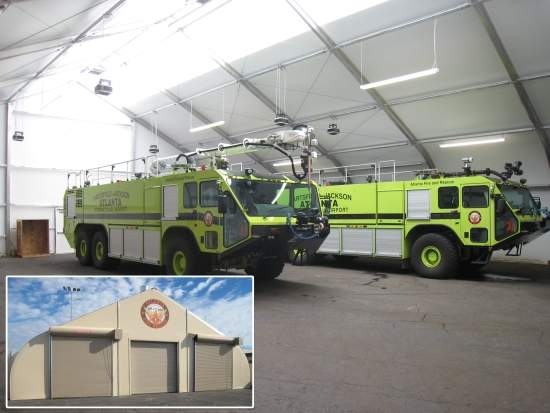 relocatable fire station