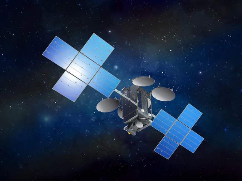 Artist's rendering of Eutelsat 7C satellite. Credit: Eutelsat.