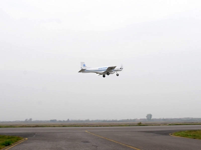 The AT200 UAV has a speed of 313km/h. Credit: Institute of Engineering Thermophysics, Chinese Academy of Sciences.