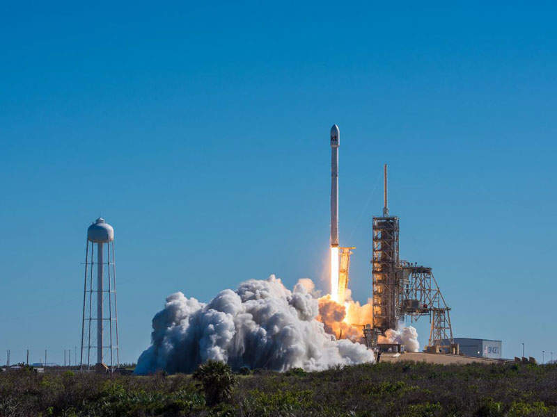 The satellite was launched from Kennedy Space Centre located in Florida. Credit: KT SAT.