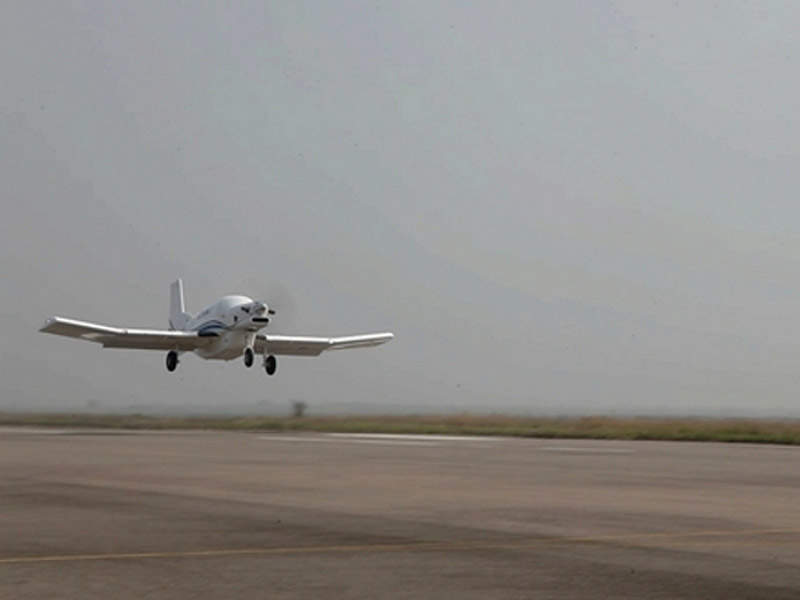 P750XL light utility aircraft was the basis for the AT200 unmanned aircraft. Credit: Institute of Engineering Thermophysics, Chinese Academy of Sciences.