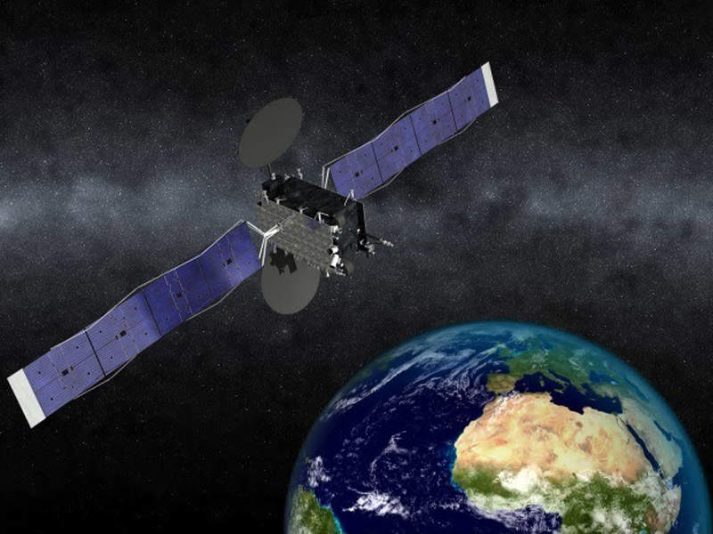 Eutelsat 5 West B telecommunication satellite will be launched by the end of 2018. Credit: Orbital ATK.
