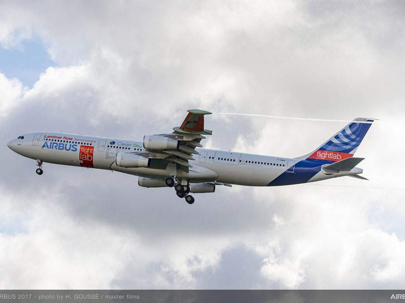 The first flight test of the aircraft was completed in September 2017. Credit: Airbus.