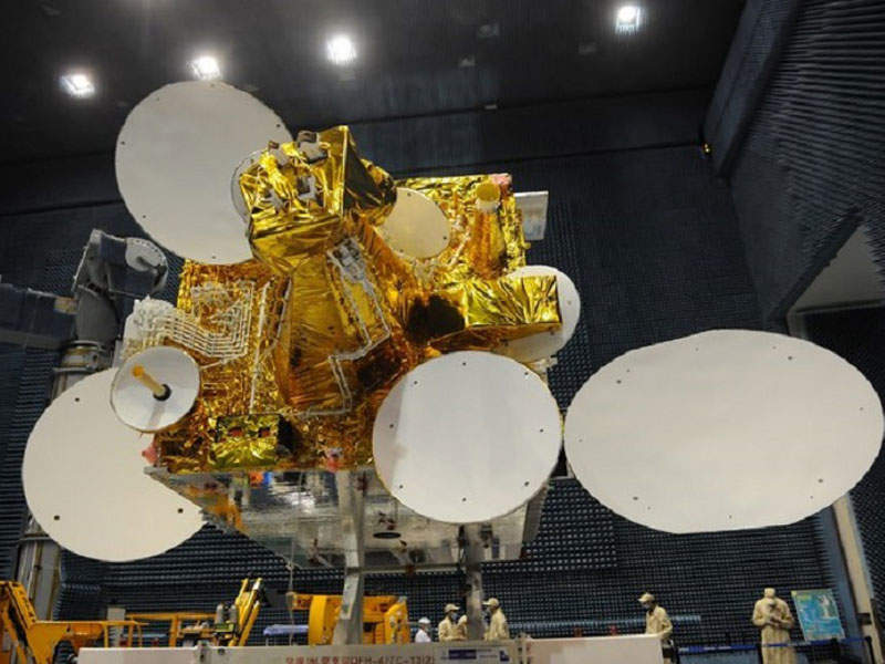 Alcomsat-1 communications satellite has a design life of 15 years. Credit: Algerian Space Agency (ASAL).