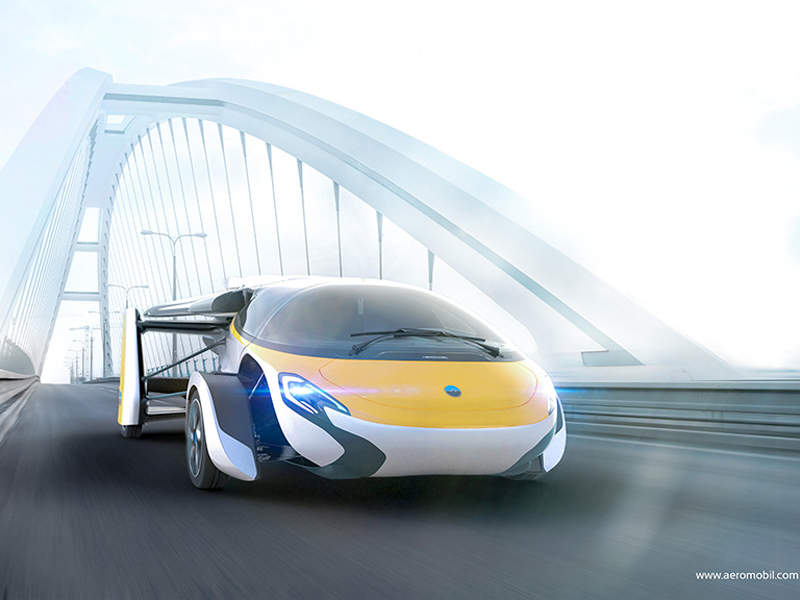 The flying car will be delivered to customers from 2020. Image courtesy of AeroMobil.