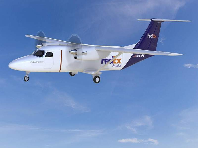FedEx Express ordered 100 Cessna SkyCourier 408 aircraft. Image courtesy of FedEx.