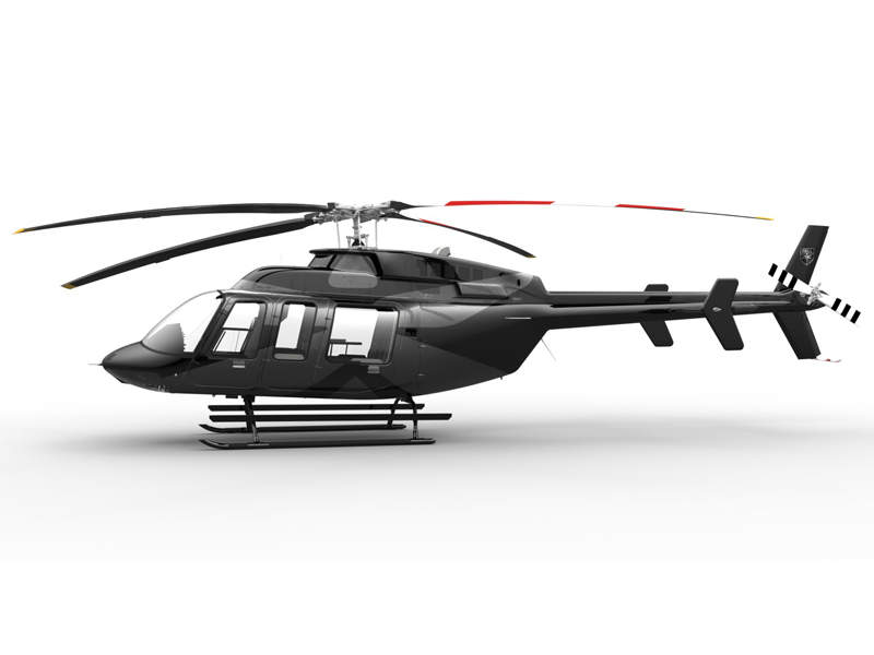 The helicopter can attain maximum cruise speed of 246km/h. Credit: Bell Helicopter Textron Inc.