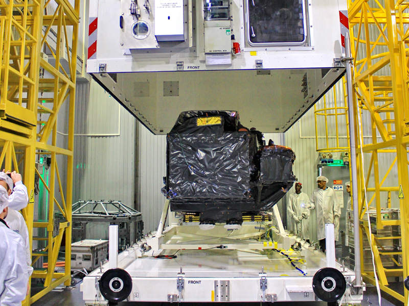 Sentinel-3B and Sentinel-3A satellites together will provide data for Europe's Copernicus programme. Credit: ESA.