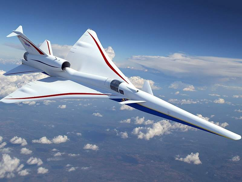 The aircraft will have a length of 93.83ft, height of 13.74ft and wingspan of 29.5ft. Image courtesy of Nasa.