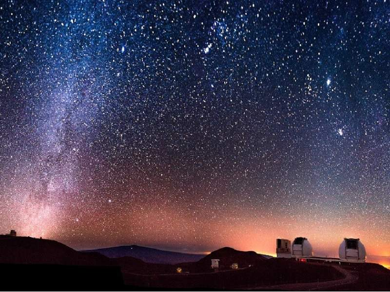 The first light of the telescope is expected to be obtained in July 2027. Credit: TMT International Observatory.