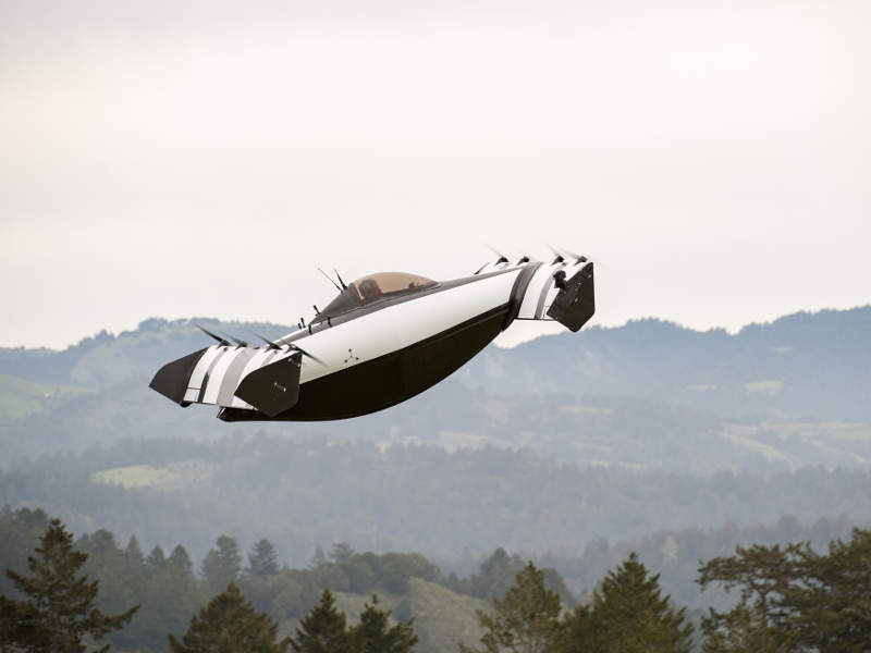 BlackFly is a lightweight all-electric vertical take-off and landing aircraft. Credit: Opener.