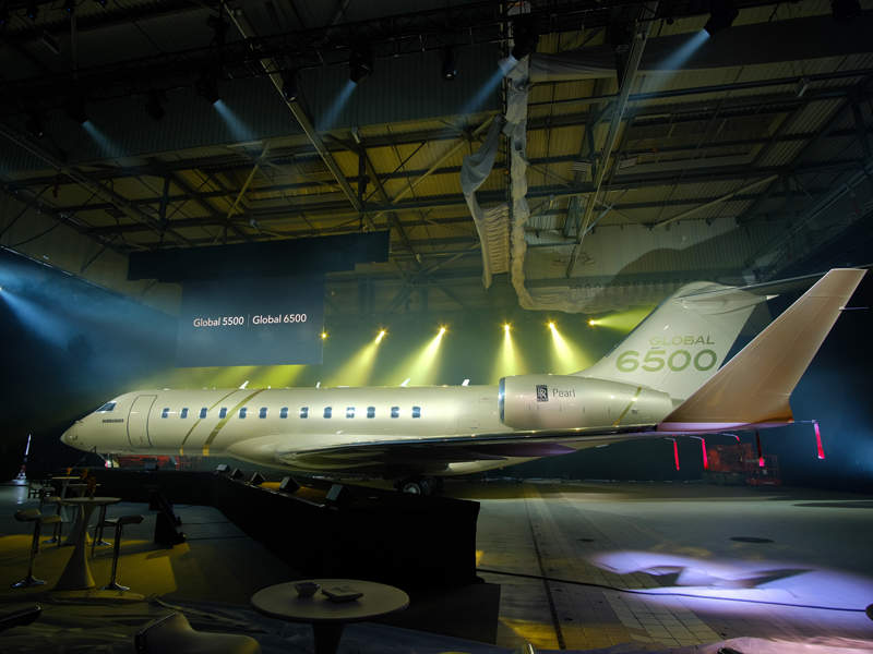 Global 6500 aircraft is expected to enter service in 2019. Credit: Bombardier Inc.