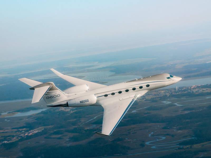 Gulfstream G600 has maximum passenger carrying capacity of 19. Credit: Gulfstream Aerospace Corporation.