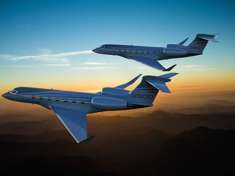 The maximum operating speed of the business jet is Mach 0.925. Credit: Gulfstream Aerospace Corporation.
