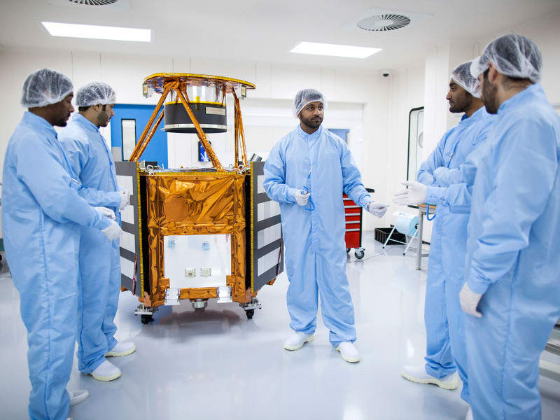 The spacecraft will be launched on-board the H-IIA rocket. Credit: Mohammed bin Rashid Space Centre.