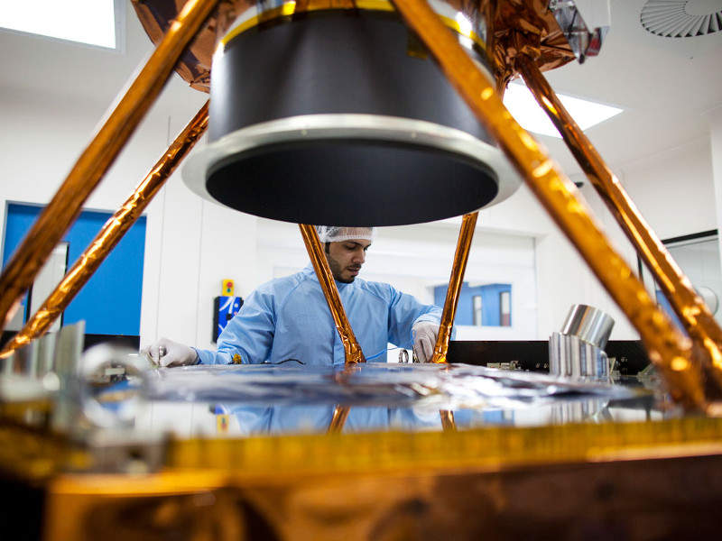 The Hope spacecraft is scheduled to be launched in 2020. Credit: Mohammed bin Rashid Space Centre.
