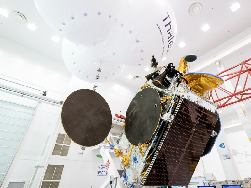 Thales Alenia Space was the prime contractor for the Bangabandhu (BD-1) communication satellite. Credit: Thales Alenia Space/Imag[IN].