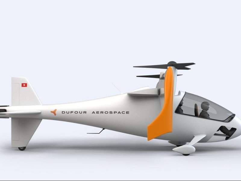 aEro 2 aircraft will have a cruise speed of 320km/ph. Credit: Dufour Aerospace.