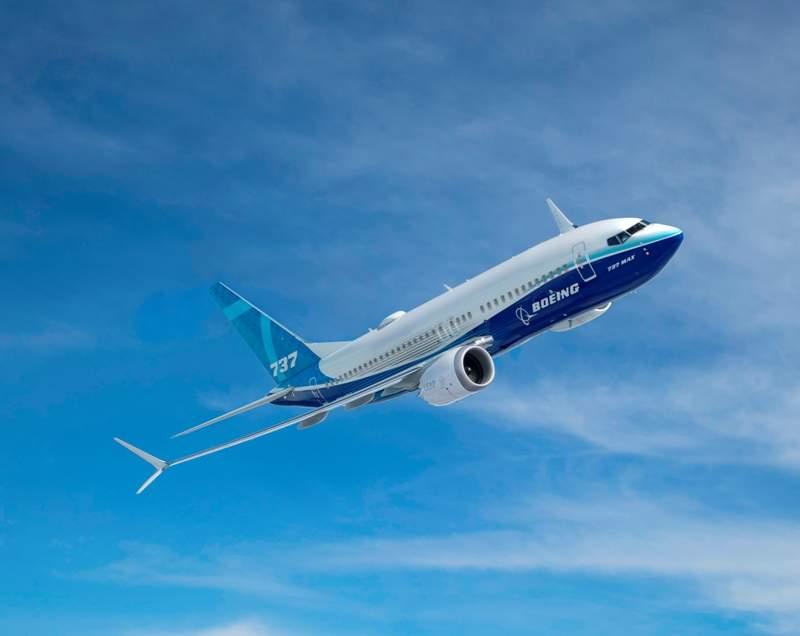 737 MAX aircraft
