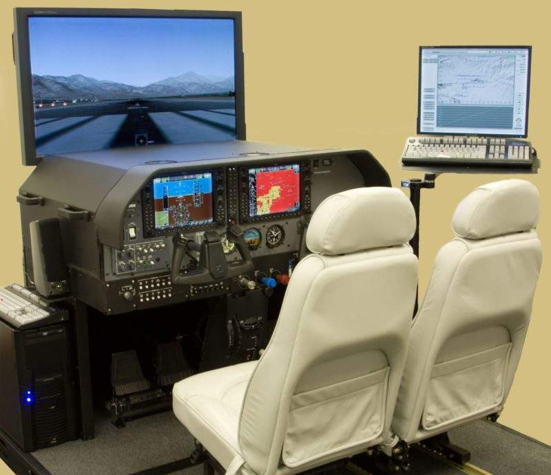 advanced aviation training device