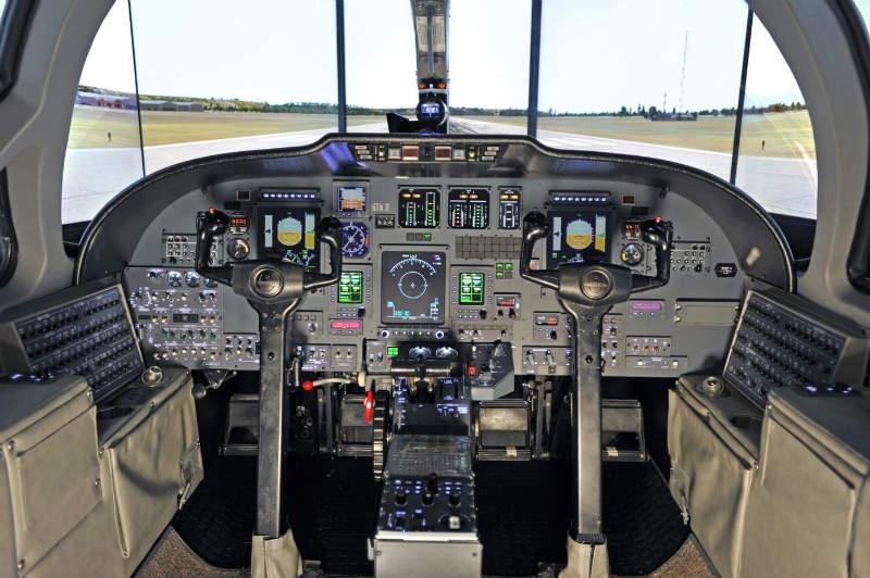 flight simulation device