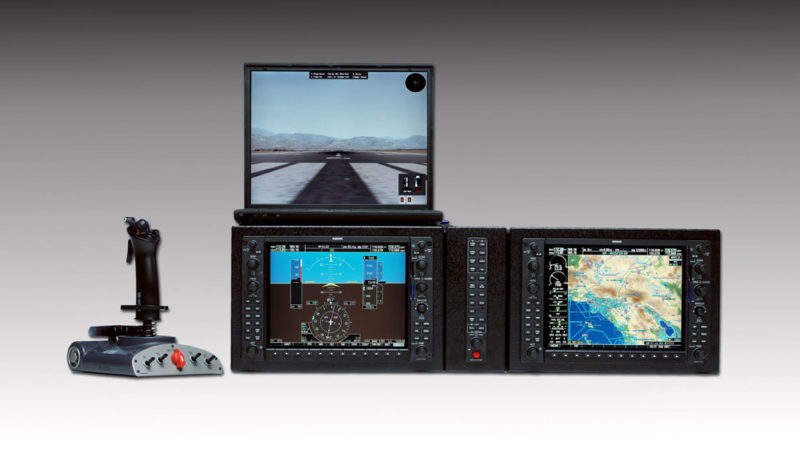garmin integrated flight simulator