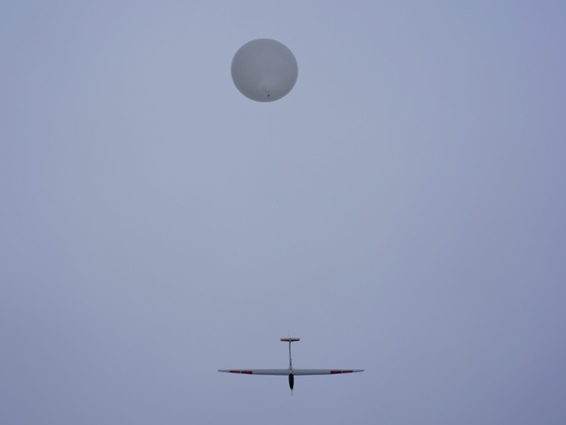 The first test flight of HiDROID was conducted in November 2018. Credit: UAVOS.
