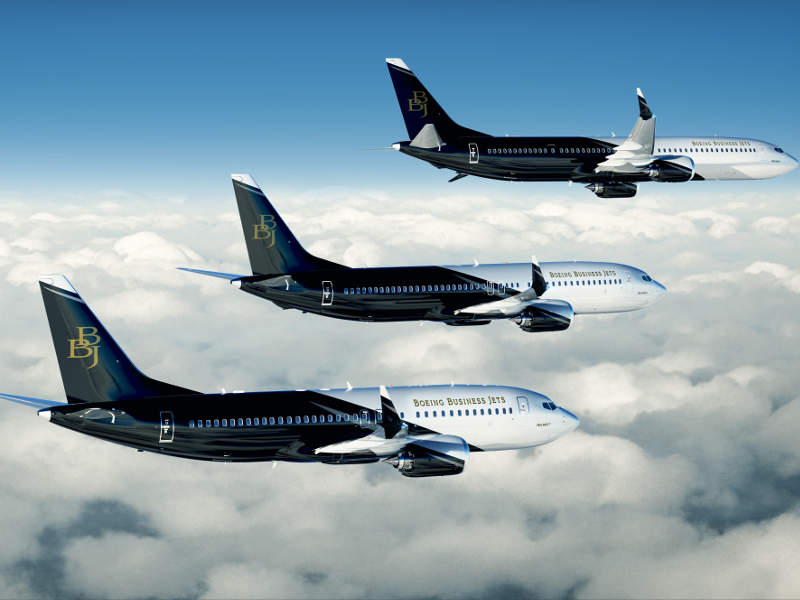 BBJ MAX 7 is the smallest business jet in the BBJ MAX family. Credit: Boeing.
