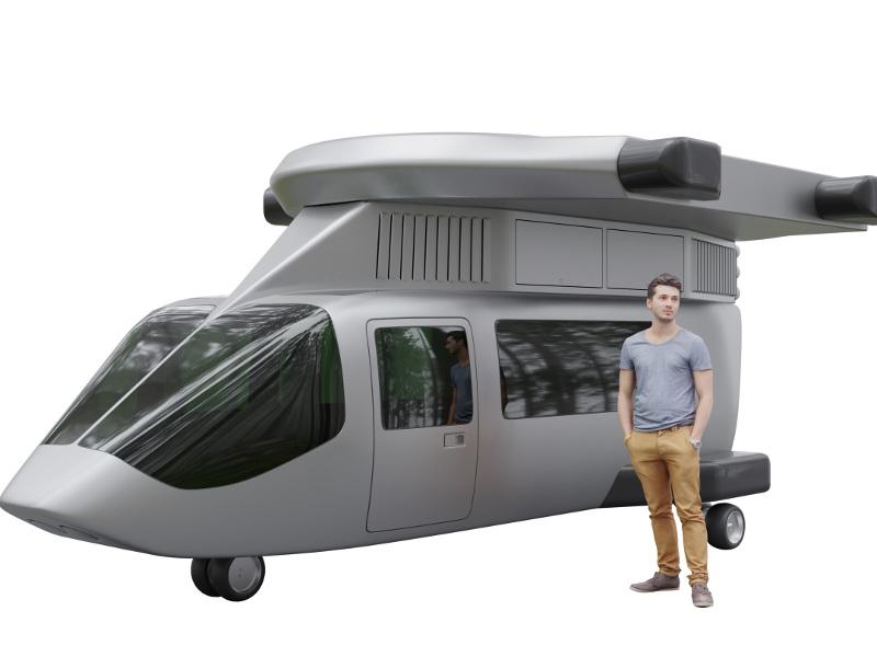 Jetcopter VTOL Aircraft