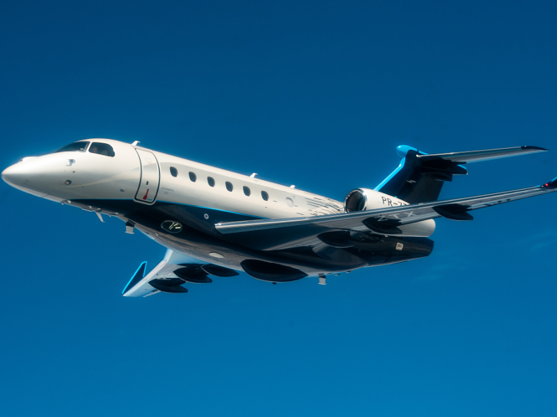 Praetor 600 was launched at a private event held at Orlando Executive Airport in the US in October 2018. Image courtesy of Embraer S.A.