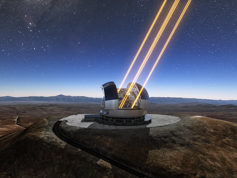 ELT will see first light in 2024. Credit: ESO.