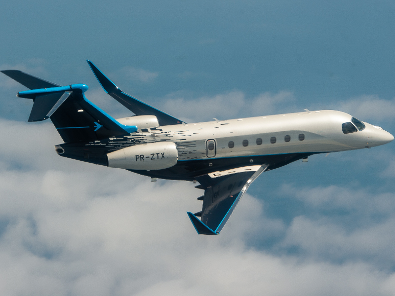 The Praetor 600 has a length of 20.74m. Image courtesy of Embraer S.A.