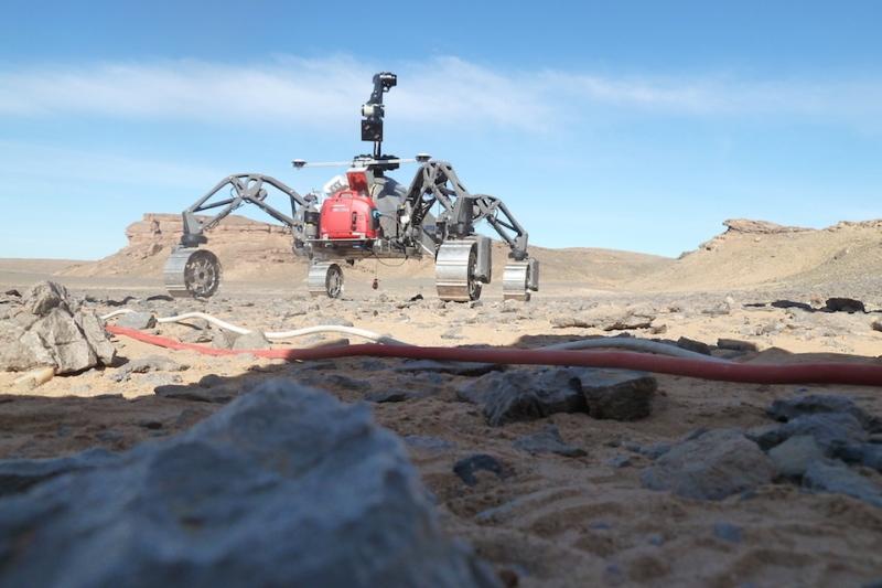 Martian robot