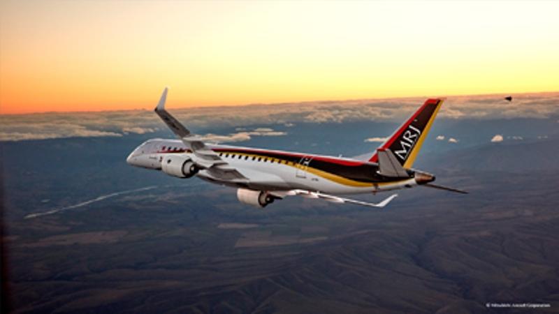 MRJ jet