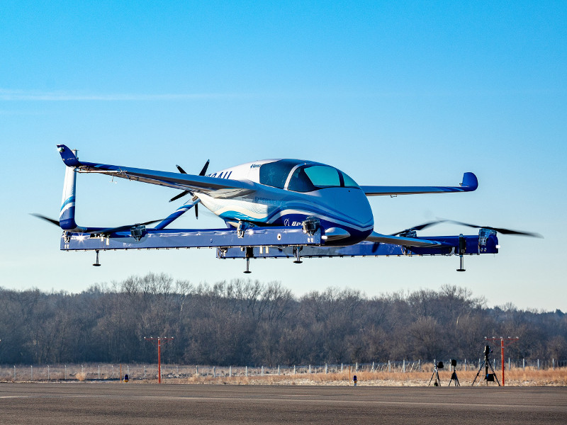 Boeing PAV is a fully autonomous electric vertical take-off and landing (eVTOL) aircraft. Credit: Boeing.
