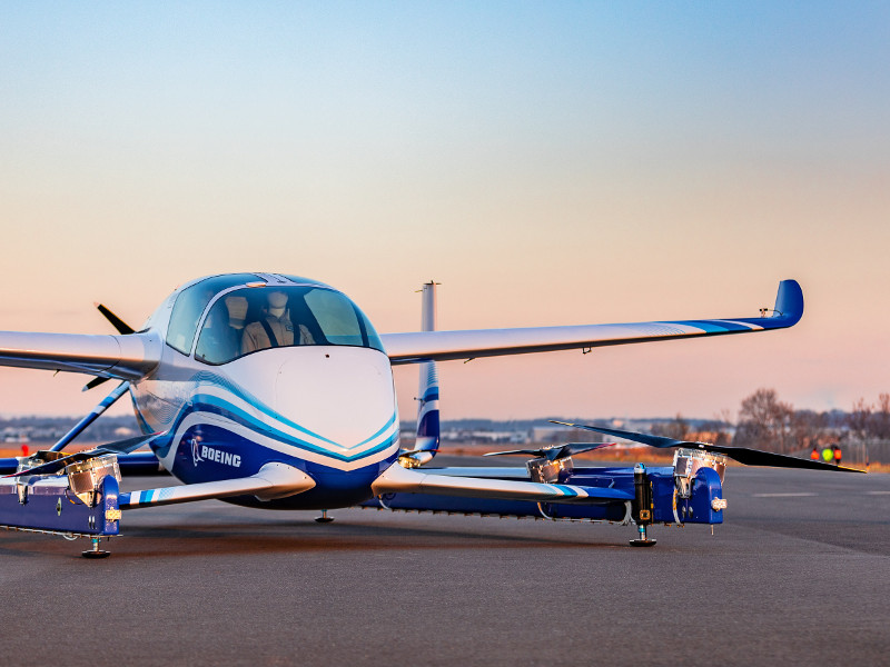 Boeing NeXt conducted the first test flight of Boeing PAV in January 2019. Credit: Boeing.