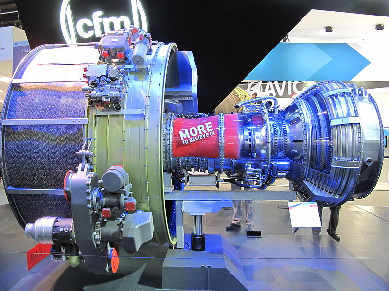 Safran LEAP turbofan engine