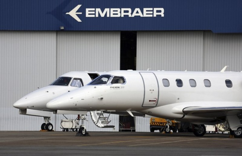 Embraer Boeing commercial aircraft JV