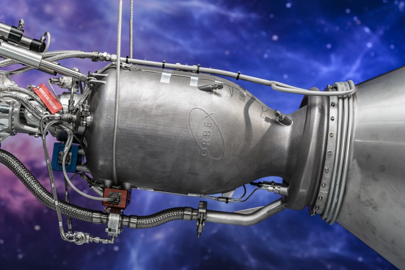 Orbex printed rocket engine